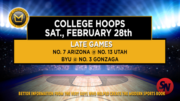 Saturday college hoops - late games