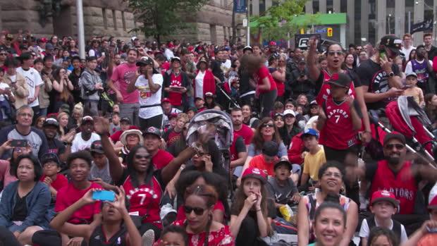 Basket : Raptors - Toronto célèbre ses champions