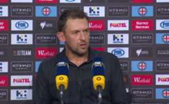 Tony Popovic was pleased with the response from his side after going down a goal and to 10-man against City.
