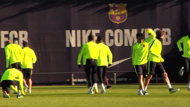 La lesión de Neymar no preocupa en el Barcelona
