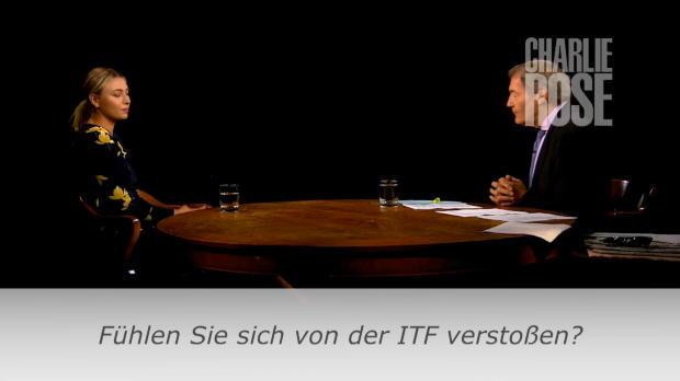 Doping: Sharapova fühlt sich von ITF verstoßen