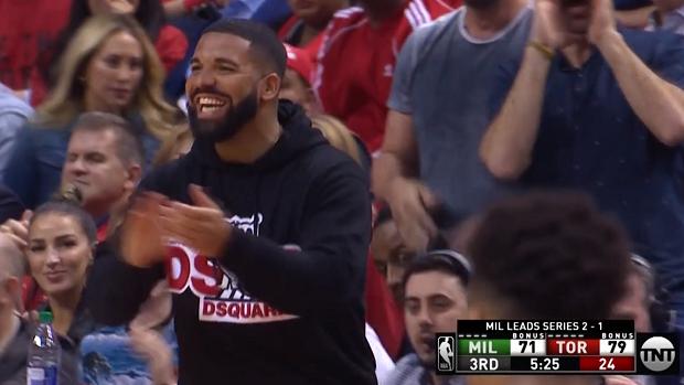 NBA: Drake hat es wieder getan und feiert sich und seine Toronto Raptors