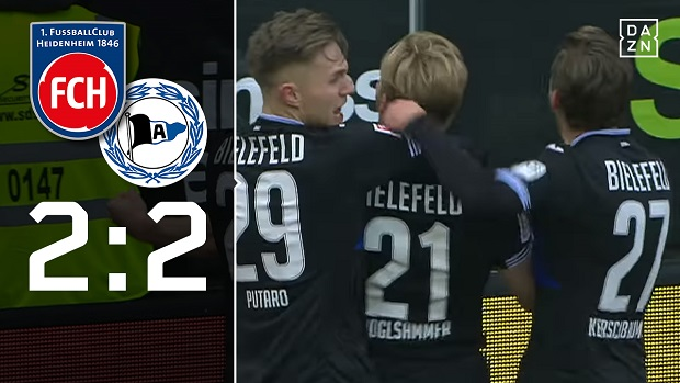 FC Heidenheim 1846 - Arminia Bielefeld