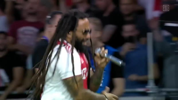UEFA Champions League: Marley-Sohn performt Three Little Birds