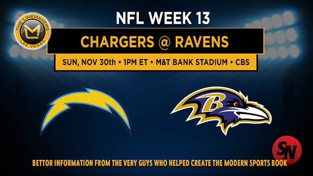 San Diego Chargers @ Baltimore Ravens