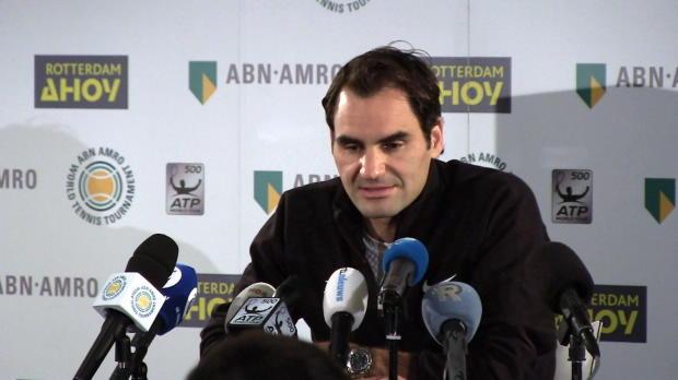 """Rotterdam: Federer: Nr.1 """"einfach nur verrückt"""""""