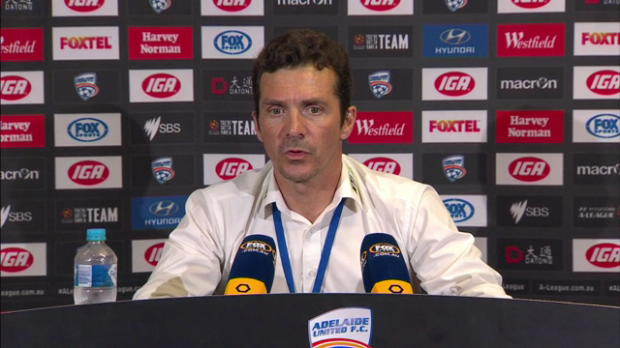 Adelaide United Rd19 press conference