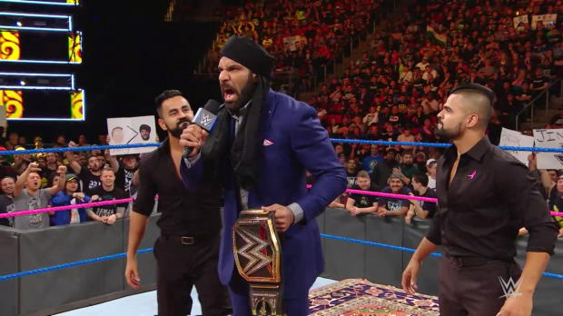 Paul Heyman responds to Jinder Mahal's Survivor Series challenge to Brock Lesnar: WWE Now