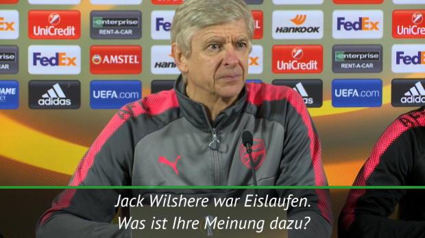 Wilsheres Eislauf-Ausflug: Das sagt Wenger