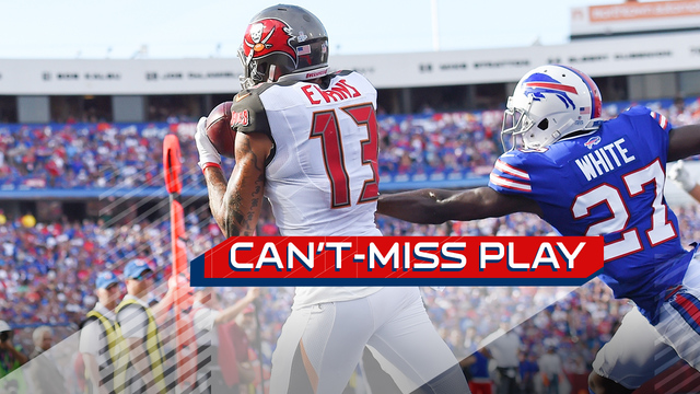 Can't-Miss Play: Mike Evans works some magic with his feet for a TD