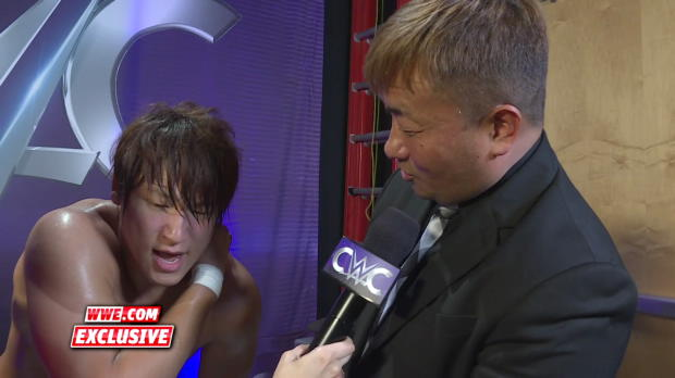 Kota Ibushi is feeling the effects of his grueling Quarterfinal showdown: WWE.com Exclusive, Aug. 31, 2016