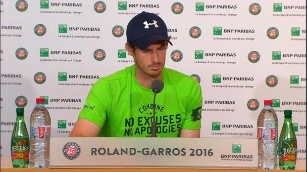 """French Open: Murray: """"Nicht allzu schlecht"""""""