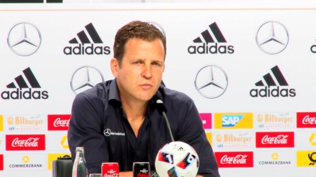 """EM 2016: Bierhoff: """"Nicht mehr lamentieren"""""""