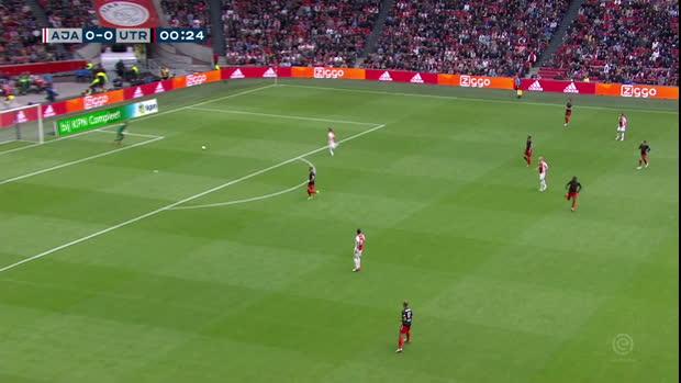Eredivisie: Ajax - Utrecht | DAZN Highlights