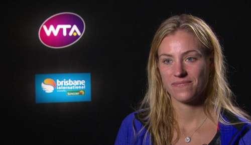Kerber Interview: WTA Brisbane 2R