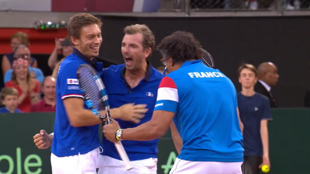 : NEWS - Coupe Davis ? Noah et Mahut à la rescousse de Benneteau !