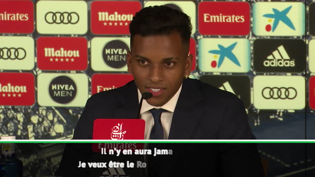 Real - Rodrygo - 'Je ne veux pas être Neymar, je veux être le Rodrygo du Real'
