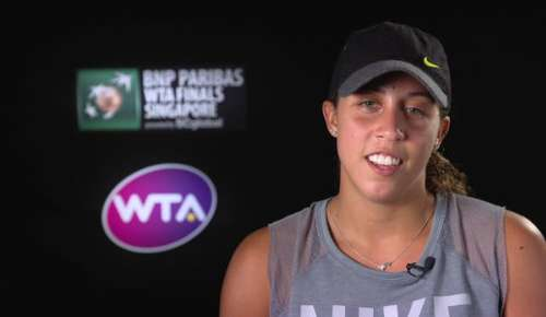 Keys Interview: WTA Singapore RR