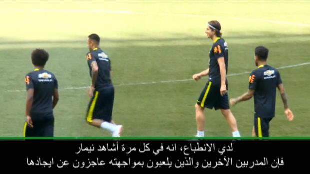 كرة قدم: دولي: ليس هنالك طريقة سهلة لإيقاف نيمار- تاباريس