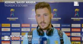 Mat Leckie felt a draw was a fair result after the Caltex Socceroos and Saudi Arabia finished 2-2 in Jeddah.