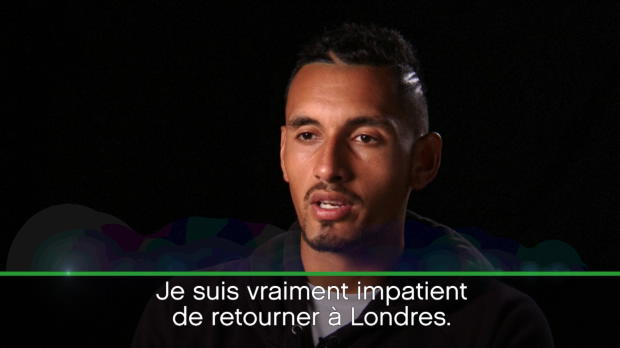 : NEWS - Queens - Kyrgios - ''J'ai beaucoup mûri'