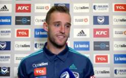 Hear from Melbourne Victory defender Nick Ansell following Friday night's 3-2 win over Brisbane Roar.