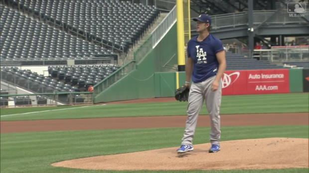 Kershaw absolviert Simulated Game