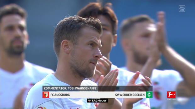 Bundesliga: FC Augsburg - SV Werder Bremen | DAZN Highlights