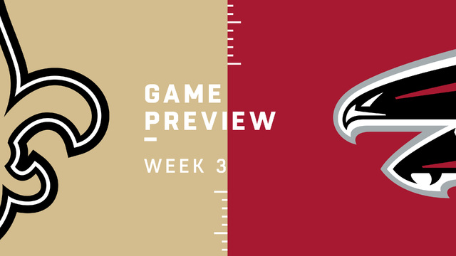 Saints vs. Falcons Week 3 preview | NFL Playbook