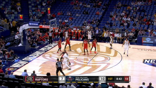GAME RECAP: Raptors 134, Pelicans 119