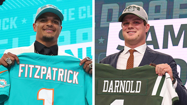 Biggest winners from Day 1 of 2018 NFL Draft