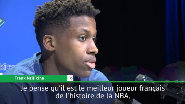 """Basket : NBA - Ntilikina - """"Parker, le meilleur joueur français de l'histoire de la NBA"""""""