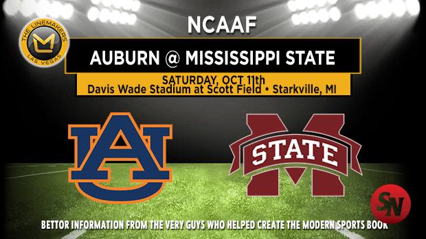 Auburn Tigers @ Mississippi State Bulldogs