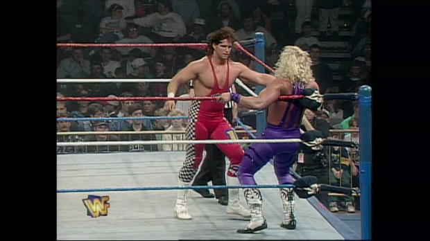 "Jeff Jarrett vs. Bob ""SparkPlug"" Holly - Intercontinental Championship Match: Action Zone, May 7, 1995"