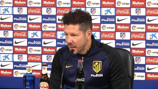 "Simeone: Bilbao? ""Immer hart für uns"""