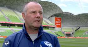 Hear from assistant coach Jean-Paul de Marigny on arrival at AAMI Park ahead of Melbourne Victory's Semi Final against Brisbane Roar.