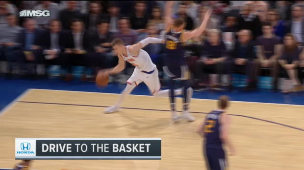 Dunk of the Night: Kristaps Porzingis