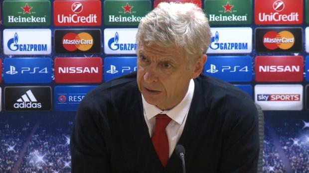 """Foot : LDC - Barrages : Wenger : """"Une fin de match difficile"""""""