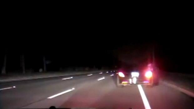 لقطة: غولف: الشرطة تنشر فيديو غداة توقيف وودز بتهمة القيادة تحت تأثير الكحول