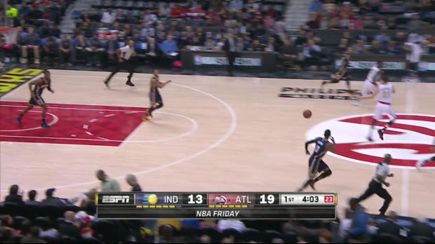WSC: Dennis Schroder with 7 Assists against the Pacers