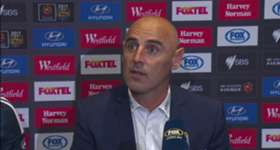 Victory boss Kevin Muscat felt his side didn't deserve to lose Sunday's grand final against Sydney FC.