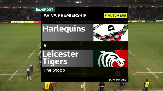 Aviva Premiership - Match Highlights - Harlequins v Leicester Tigers