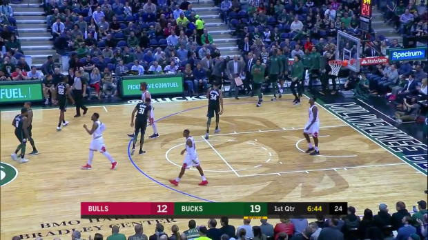 WSC: Giannis Antetokounmpo (29 points) Highlights vs. Chicago Bulls