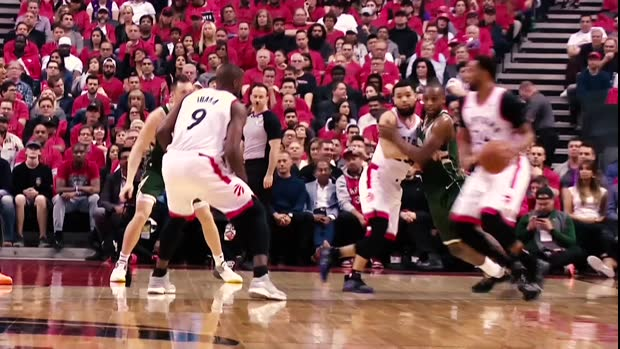 Turning Point: Raptors bench overwhelms Bucks to even series
