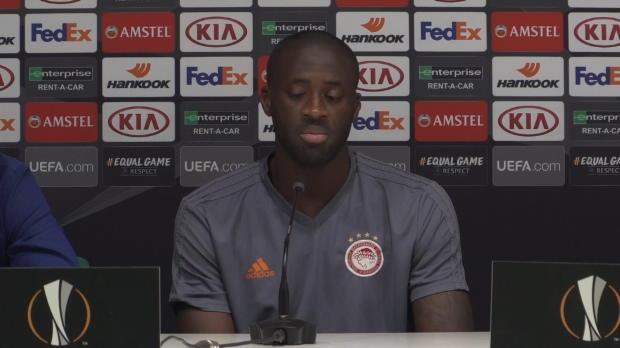 Groupe F - Touré - 'Faire bonne figure contre le Milan AC'