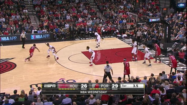 WSC: James Harden with 11 Assists against the Trail Blazers
