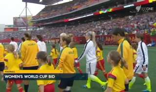 Australia will bid to host the world's largest women's sporting event – the FIFA Women's World Cup - in 2023.
