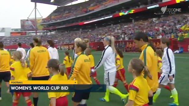 Australia's Women's World Cup bid
