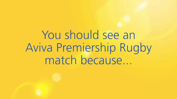 Aviva Premiership - Schalk Brits of Saracens - Aviva First Timers