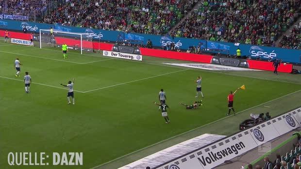 Die fiesesten Fouls der Bundesliga-Hinrunde
